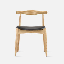 [SALE]  Elbow Round Chair, W50, Oak
