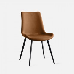NADINE Dining Chair II, Brown