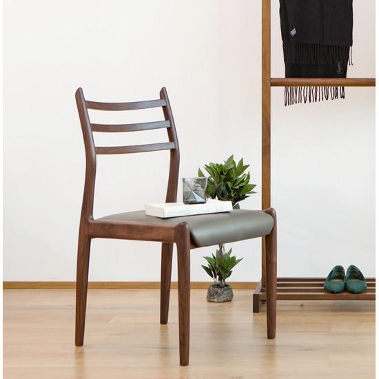 Dandy Wood Chair, Natural Walnut