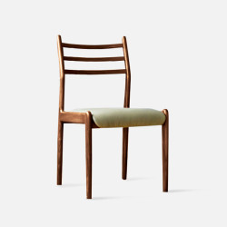 Dandy Wood Chair, Natural Walnut