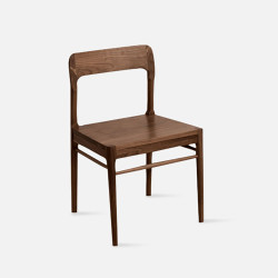 Oaki Wooden Chair V.2, Walnut