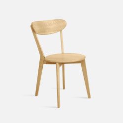 LENA Dining Chair W42 Oak