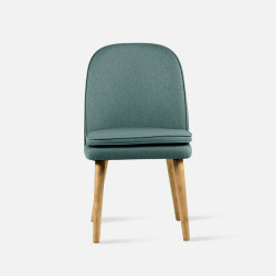 JC Armless Chair, Oak