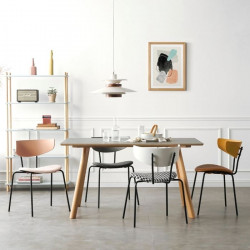 NADINE Dining Chair, Yellow
