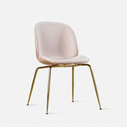 Shell Dining Chair II, Gold Legs