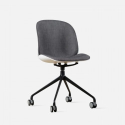Shell Chair II with wheels