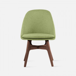 Willow dining chair, Walnut