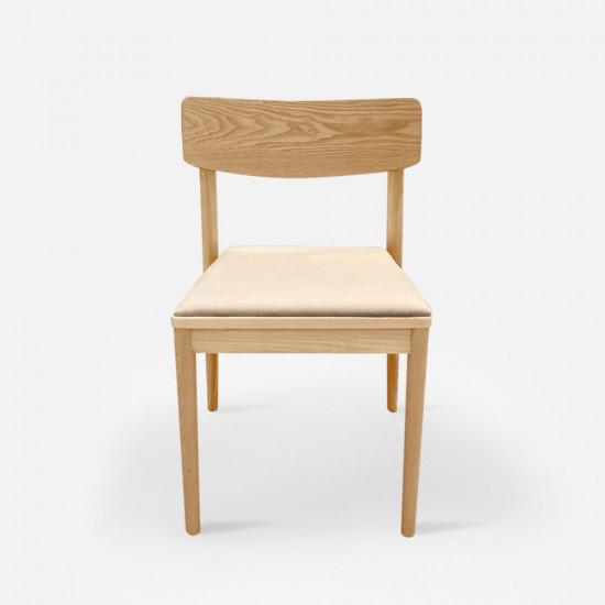 JC Dining Chair, W50, Ash