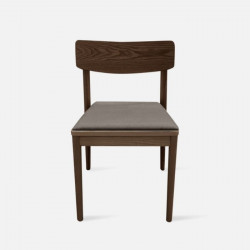JC Dining Chair, Dark Walnut, Ash [display]