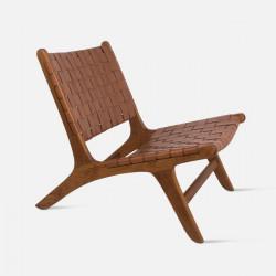 REMIX Deckchair, Leather