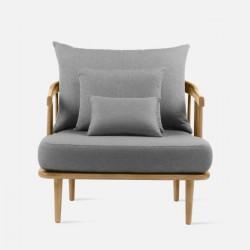Willow Single Sofa, L89, Ash