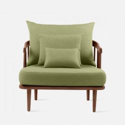 Willow Single Sofa, L89, Walnut Brown