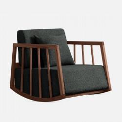 DOLCH Lounge Chair II, Walnut