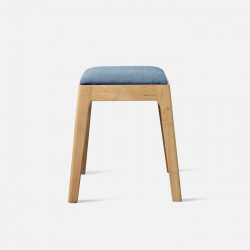DANA Stool, W42, Blue