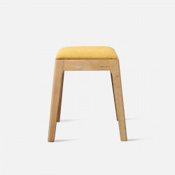 DANA Stool, W42, Yellow