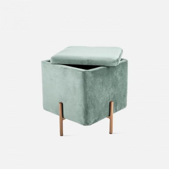 Seat Snog Velvet Jade Green