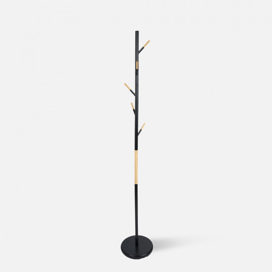Coat Rack Fushion - steel & wood