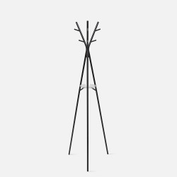 Coat rack Deer steel matt black