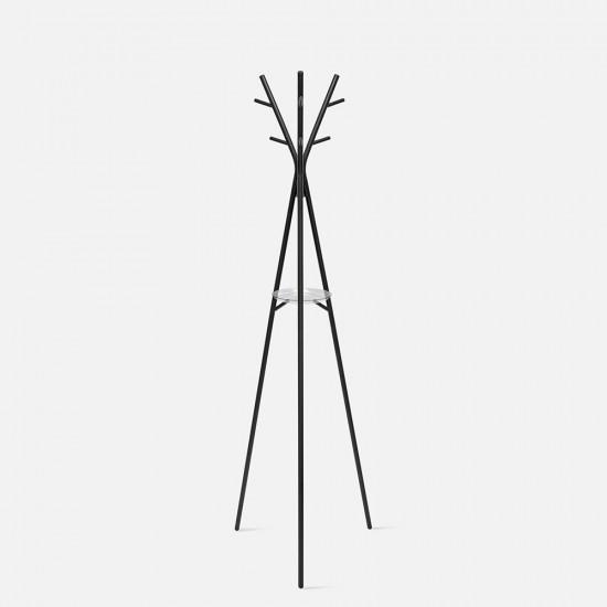 [SALE] Coat rack Deer steel matt black