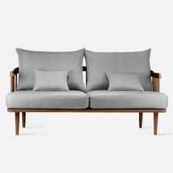 Willow Sofa, L165, Walnut Brown