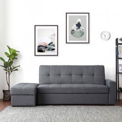 Armonia Sofa Bed with storage W200, Blue