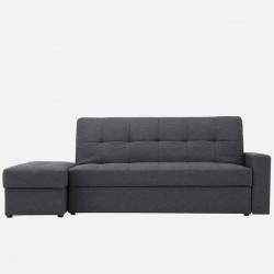 Armonia Sofa Bed with storage W200, Dark Grey