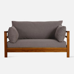 Frame Sofa L140 - Walnut