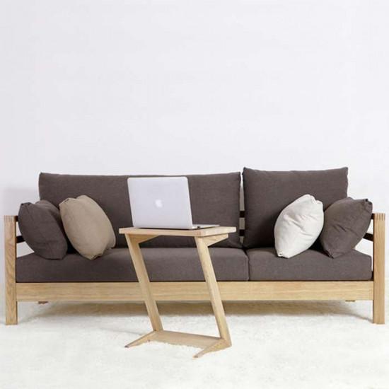Frame Sofa L200 - Oak