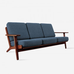 Locale Sofa, L175, Walnut Brown