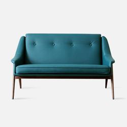 1950's Sofa - Blue L125