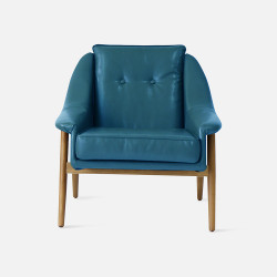 1950's Sofa Blue 1P L75