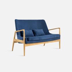 Lofty Sofa 2P, L130, Oak