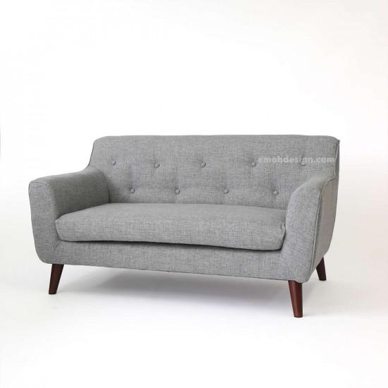 Alba Sofa - Grey L137