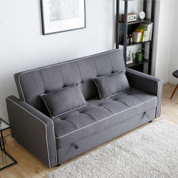 [Sale] FLEX Sofa Bed L185 - Ligh Grey
