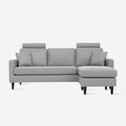 COLON L-shape Sofa - Grey