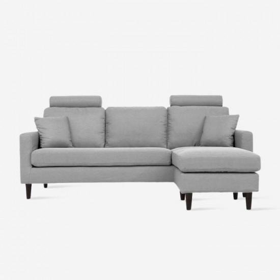 COLON L-Shape Sofa - Grey [Display]