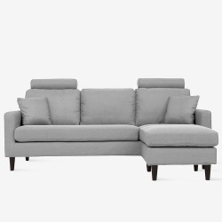 COLON L-shape Sofa - Grey