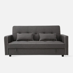 [Sale] FLEX Sofa Bed L185 - Dark Grey