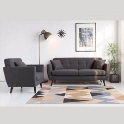 Norry Sofa L150, Light Grey