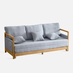 Extendable Sofabed, L214, Oak
