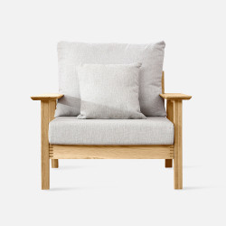 NAP Sofa II, L92, Oak