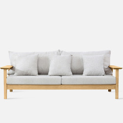 NAP Sofa II, L196, Oak