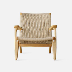 George Lounge Chair, Ash