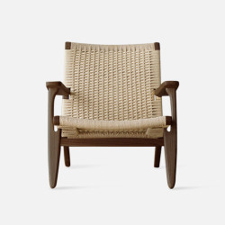 George Lounge Chair - walnut
