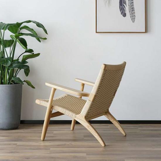 George Lounge Chair, Ash