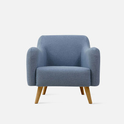 FAB Single Sofa - Blue