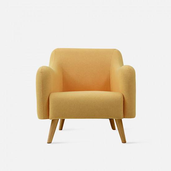FAB Single Sofa - Yellow