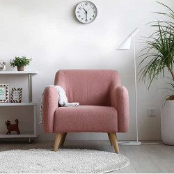 FAB Single Sofa - Light Grey