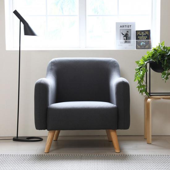 FAB Single Sofa - Blue