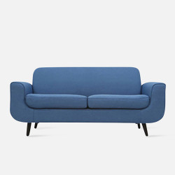 LUNA Sofa L160 -Blue